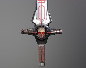 3D asset Occult Sci-Fi Sword