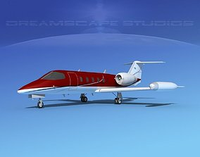 3D model Gates Learjet 35 V03