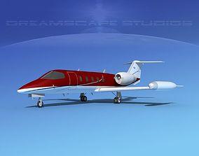 3D model Gates Learjet 35 V03
