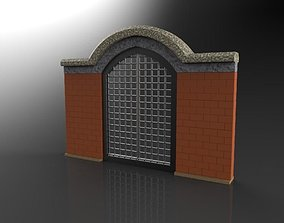 3D printable model The gate
