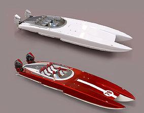 3D model Powerboat C3800