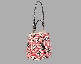 Louis Vuitton Neonoe MM Crafty Leather Bag 3D model