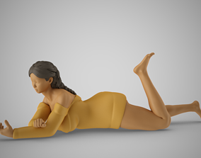 Autumn Girl 3D printable model