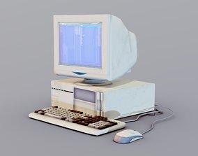 3D model Old Computer