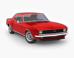 Chevrolet Camaro SS 1969 3D