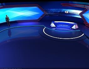 3D model Classical Studio Space