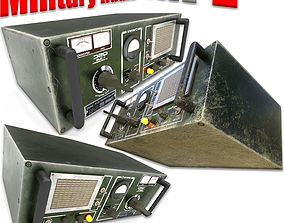 Military Radio - PBR Game-Ready 3D model