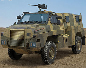 3D model Bushmaster Protected Mobility Vehicle