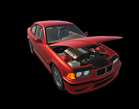 Real Car 7 3D asset