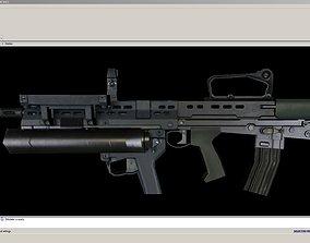 SA80-Launcher-CarryHandle 3D asset