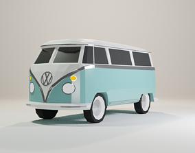 VW Camper 3D asset