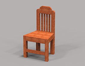 3D print model Wooden Chair