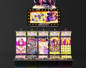 buffalo casino slot machine electronics 3D