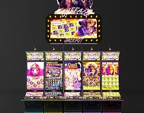 buffalo casino slot machine 3D model