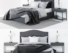 Pottery Barn Raleigh Bed 3D