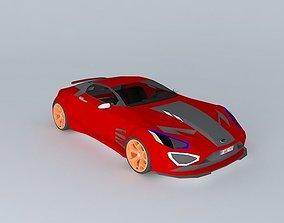 NEG Sports car 3D model