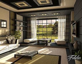 3D Living Room 13