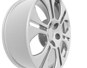 Wheel Rim tire 3D