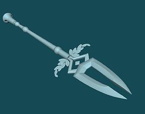 3D print model Varatha - Eternal Spear - HADES Keychain