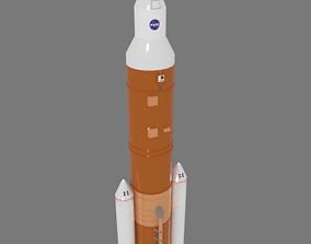 3D asset VR / AR ready Rocket
