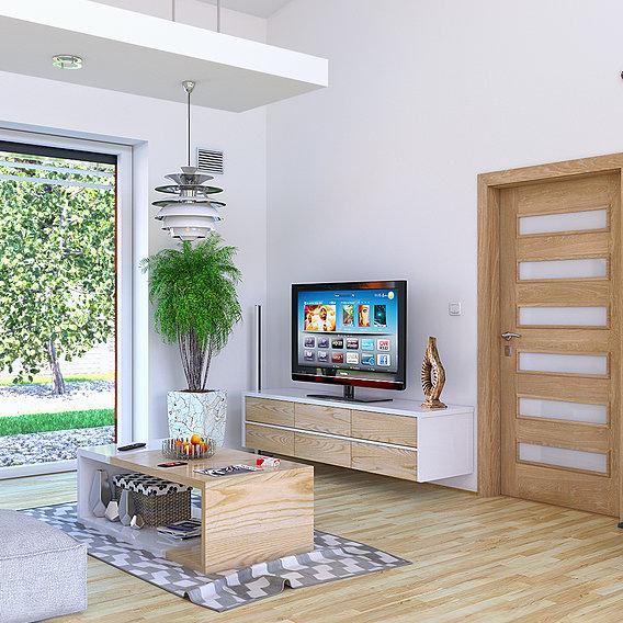 Livingroom 2 (Blender + VRay)