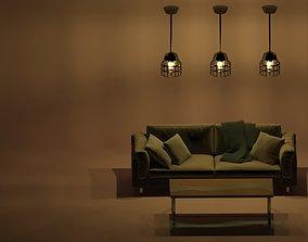 3D Design Rope Lamp