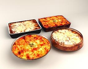 3D model Lasagna
