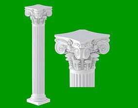 3D Modern Composite Column