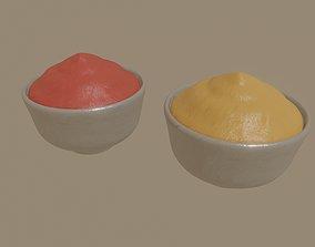 3D model Bowl of sauce