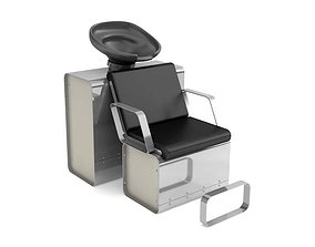3D model Barber Chair For Hair Washing