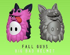3D print model Fall Guys - Big Bad - Wolf Helmet - Real 2