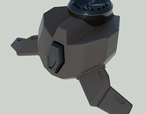 Viper Poison cloud Gas emitter Valorant 3D print model