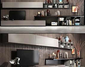 3D model Alf TV Wall set