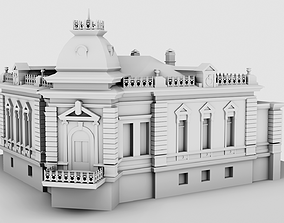 1900s Old House 3D model