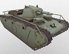 Grosstraktor PBR 3D model low-poly