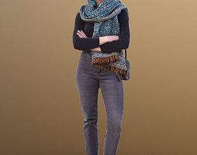 Marie 10399 - Standing Casual Woman 3D model