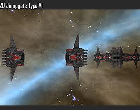 2D Jumpgate Type VI 3D