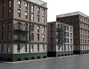 3D model New york buildings