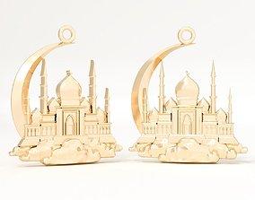 Pendant Islam 3D print model