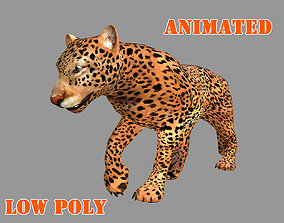 animated JAGUAR 3D MODEL - ANIMATED