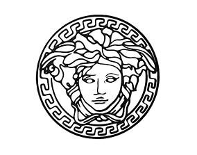 Gianni Versace Logo v1 003 3D model