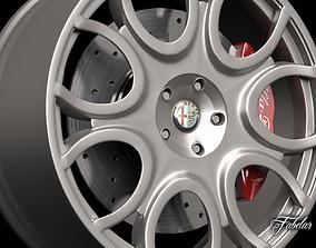 3D Alfa Brera rim