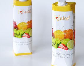 Juice bottle juicebottle 3D