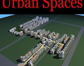 3D Urban City Plan