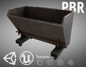 3D asset Steel Dumpster