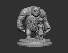 3D print model ANNIE and TIBBERS LOL CHAMPIONS