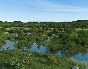 wetlands building 3D