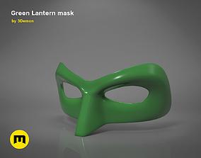 Green Lantern mask 3D printable model