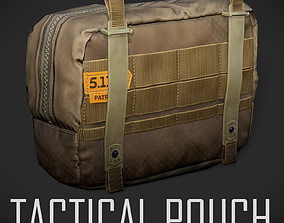 Tactical Pouch 3D asset