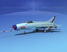 3D MIG-21 Fishbed V12
